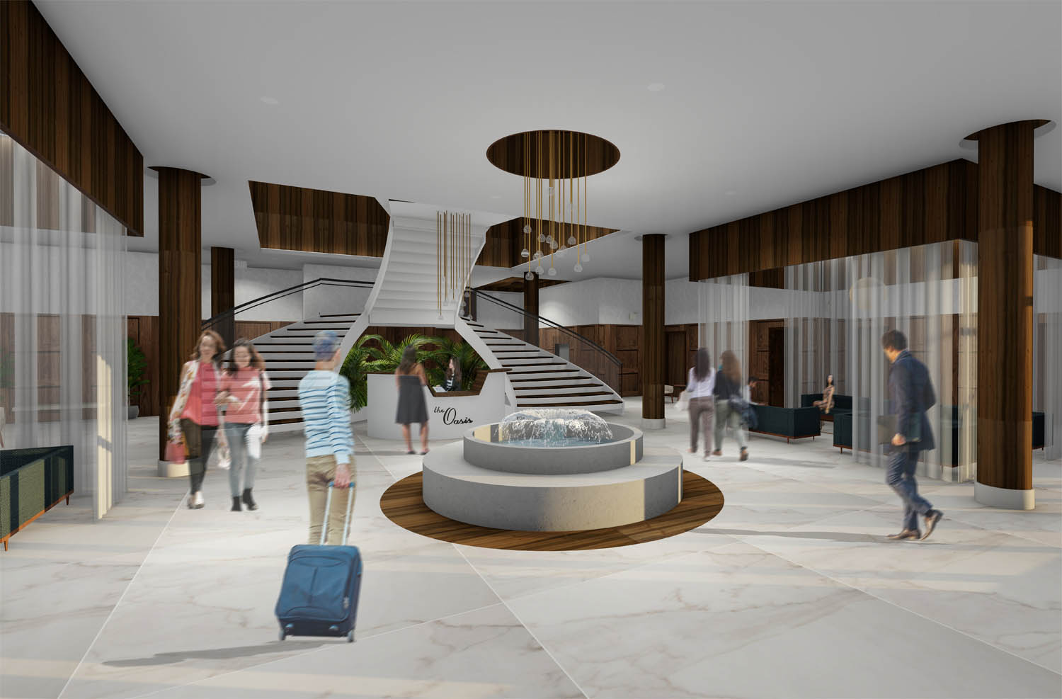 The Oasis_Level One Lobby