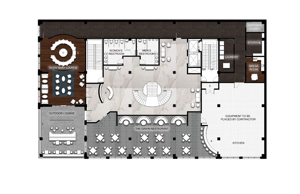 The Oasis_Level Two Floor Plan