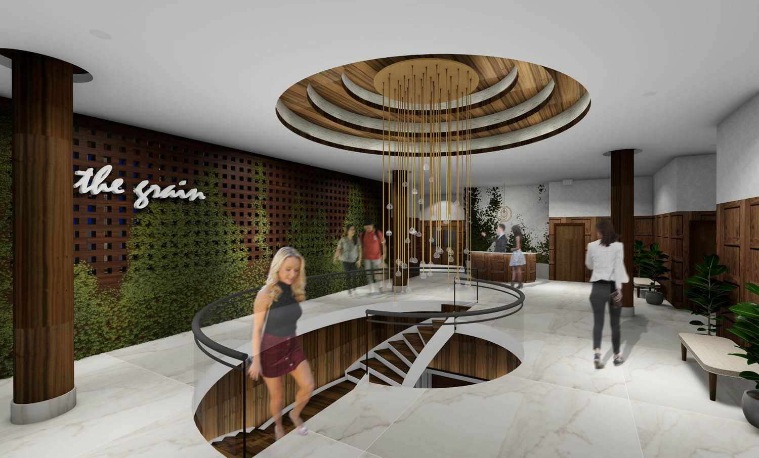 The Oasis_Level Two Lobby