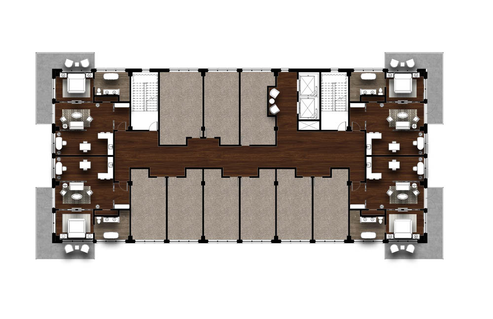 The Oasis_Level Three Floor Plan