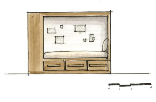 Westgate_Bedroom Elevation