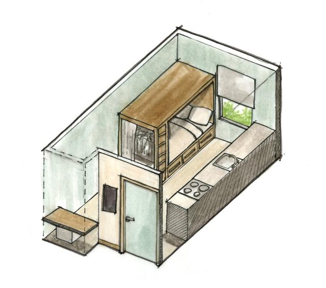 Westgate_Level One Floor Plan