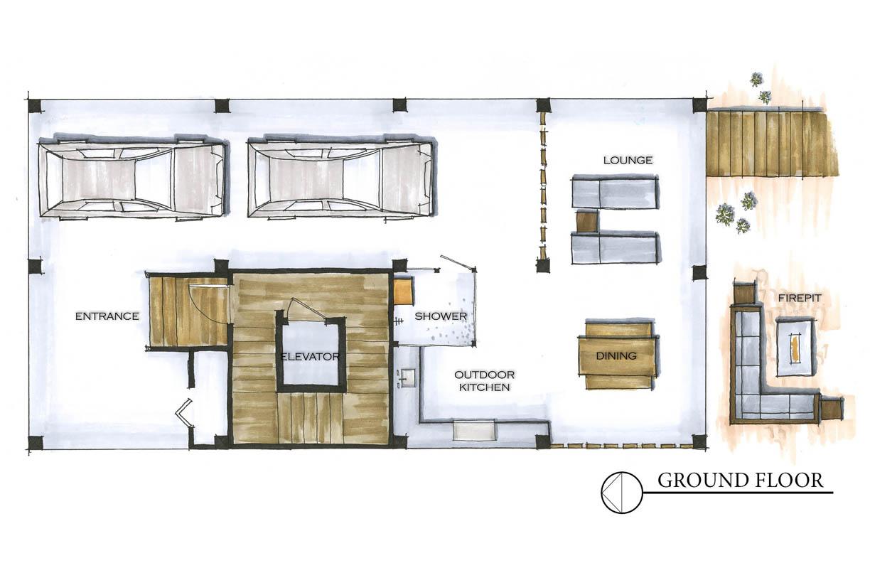 The Murdaugh Residence Ground Floor_Floor Plan