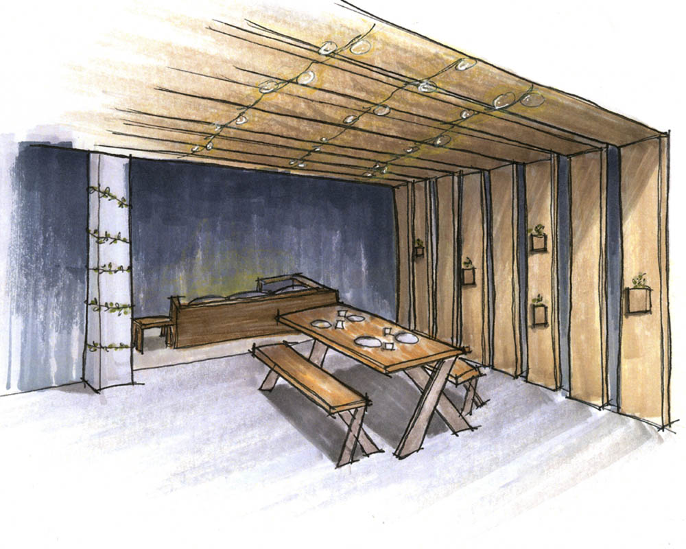 The Murdaugh Residence_Patio Perspective